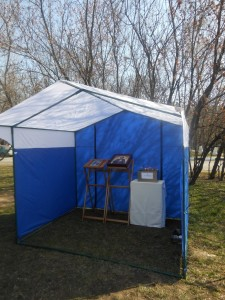 0-палатка