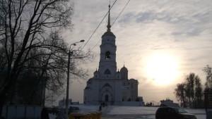 Вид на Успенский Собор г. Владимира